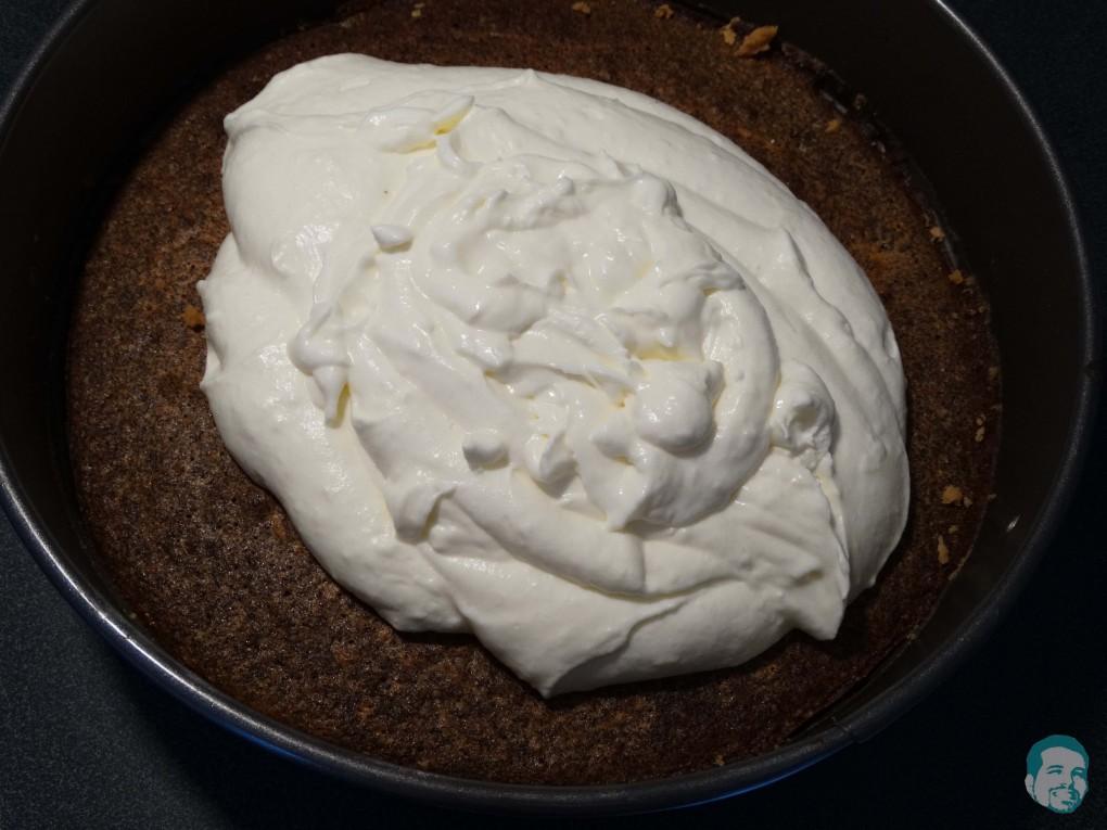 Mohnkuchen und Topfen
