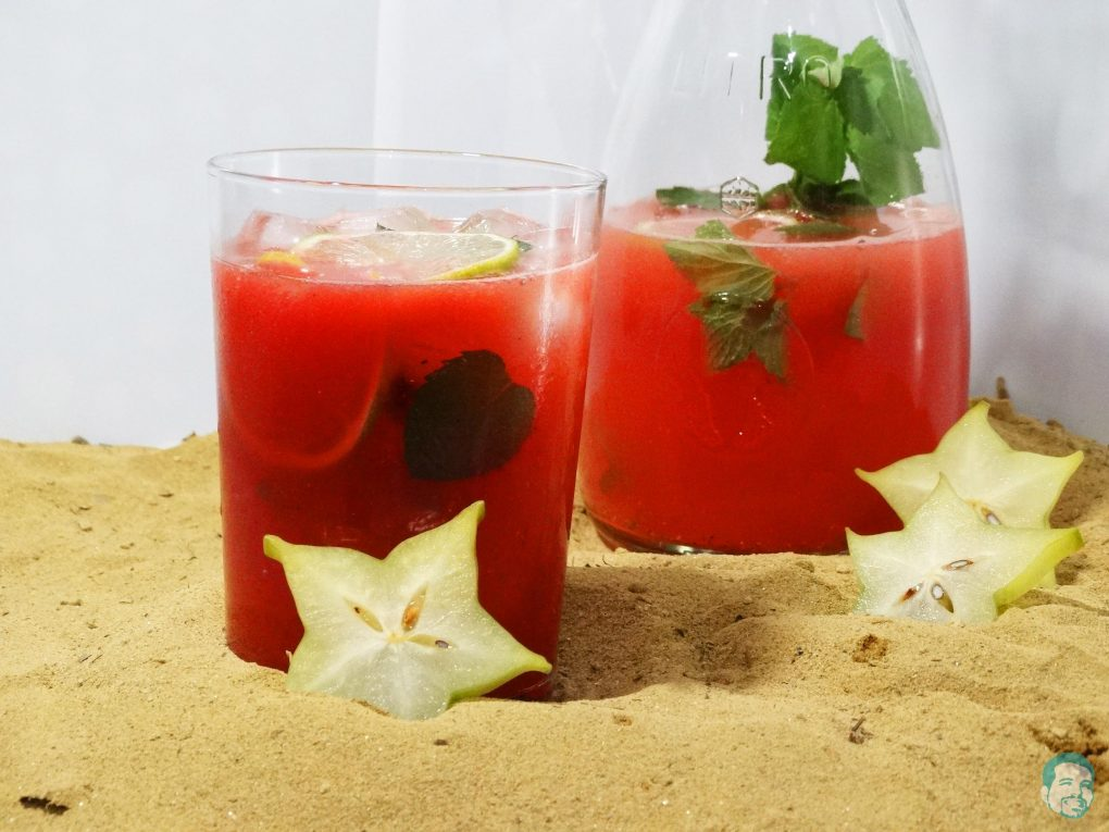 Sommerdrink Melone