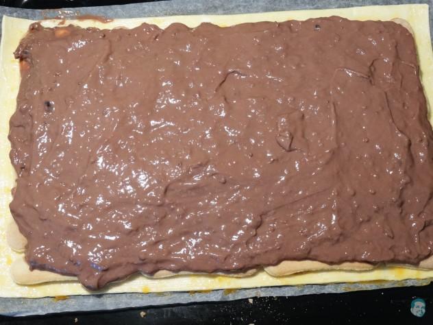 Blätterteig Pudding