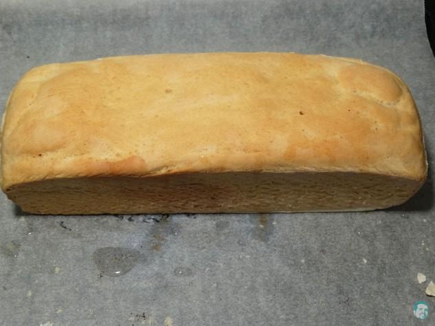 Toastbrot fertig gebacken