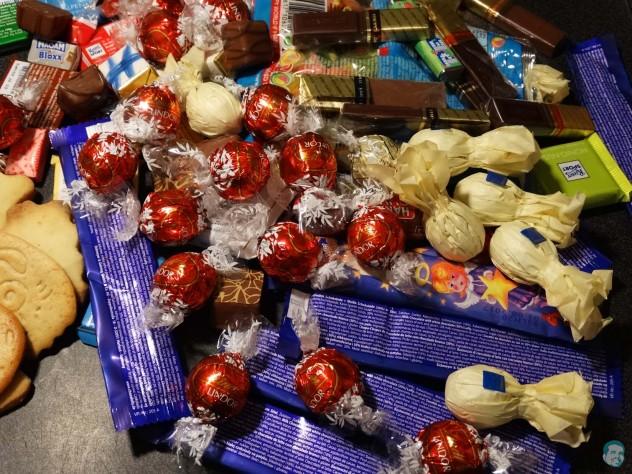 selbstgemachte Schokolade Zutaten