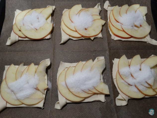 Apfel Karamell Tarte Sugar