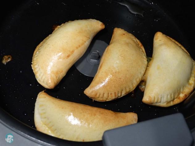 Bärlauch Empanadas fertig