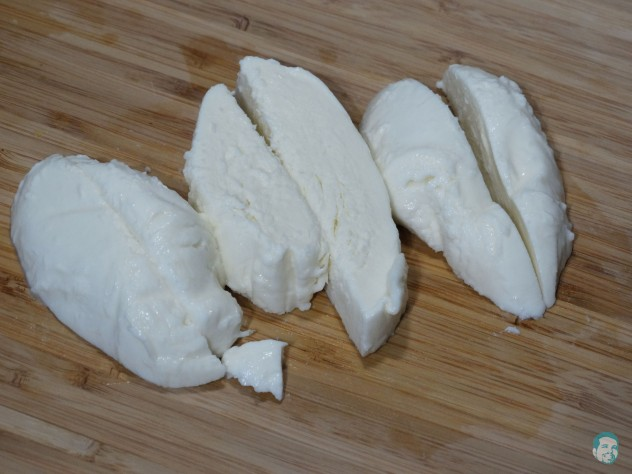 Mozzarella-schneiden