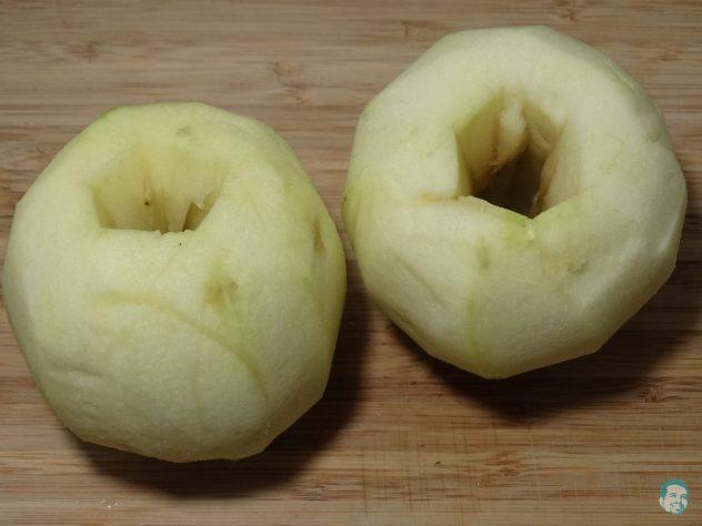 Appel geschaelt