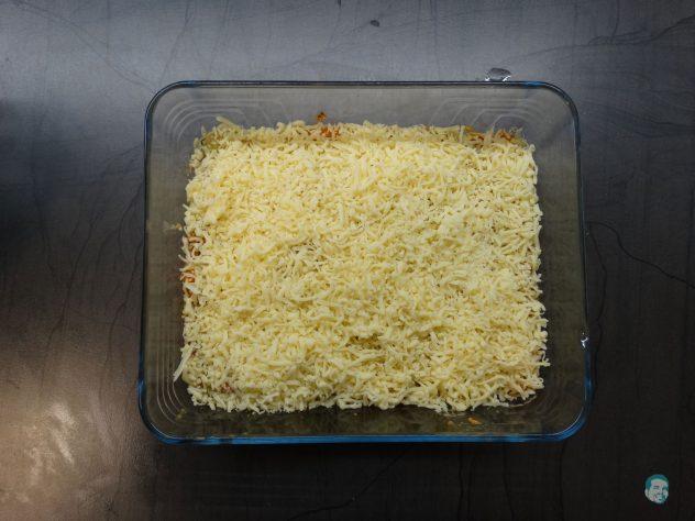 Kohlsprossen Auflauf mit Käse