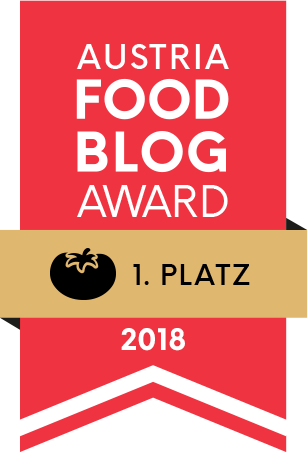 Austria Food Blog Award 2018