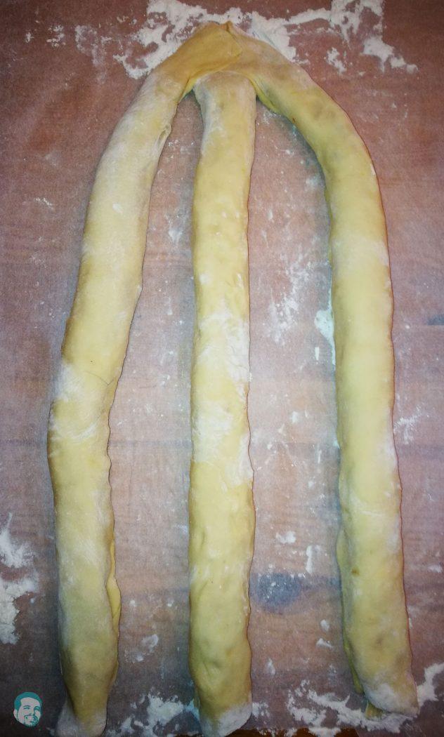 Striezel-Zopf-flechten