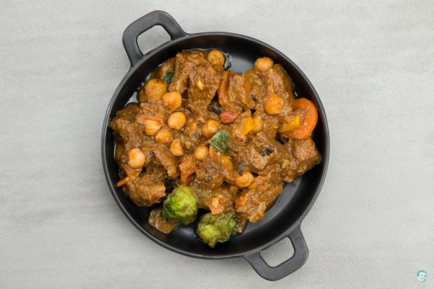 Marrokanischer-Rindfleischeintopf