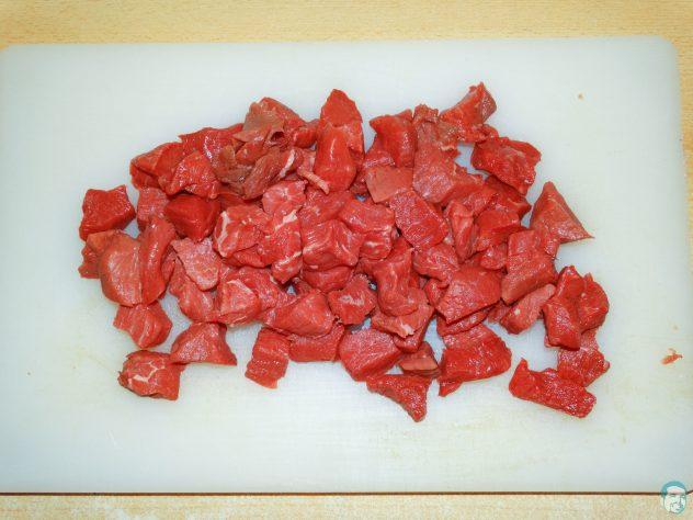 Rindfleisch-geschnitten