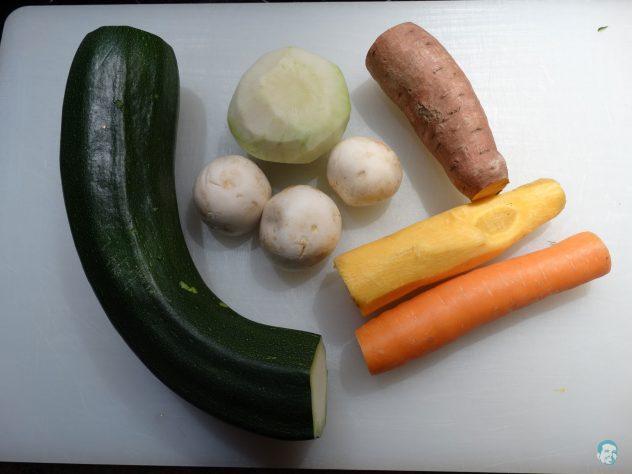 Gemüse-geputzt