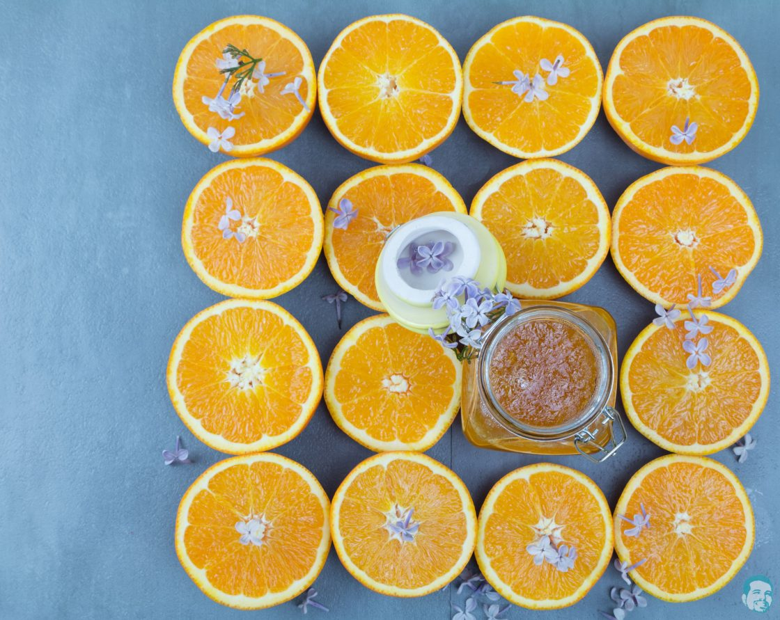 Orangen-Flieder-Marmelade-fertig-gekocht