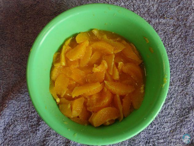 Orangenfilets
