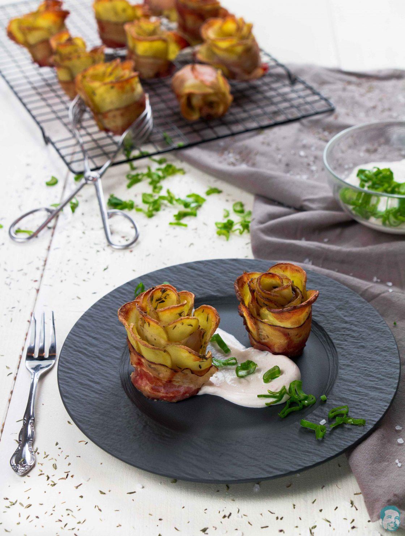Kartoffel Speck Rosen