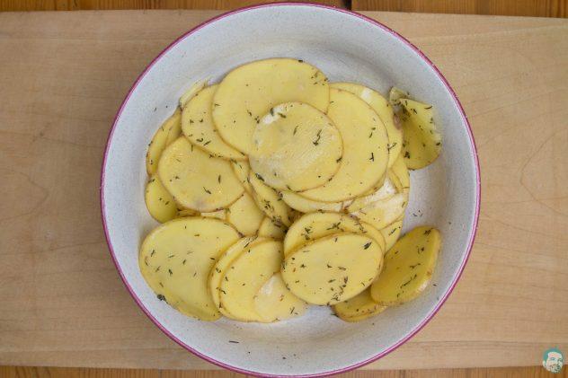 Kartoffeln gemischt