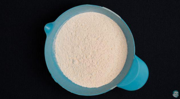 Osterhasen aus Germteig - Mehl